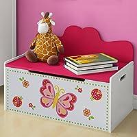 Preisvergleich für Infantastic Truhenbank Kinder Kindermöbel für das Kinderzimmer inkl. Stauraum für das Spielzeug oder Anderes