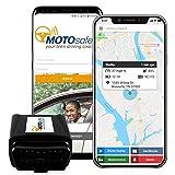Motosafety Mpaas1p13G GPS Teen Conduite Coach, système de Surveillance véhicule et du périphérique OBD Gratuit Mois de Service