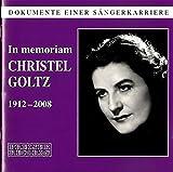 Strauss/Wagner/Weber/Gluck : in Memoriam. Goltz.