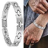 Magnetisches Armband, Armreif aus Stein im Unisex-Stil mit Gewicht, magnetisches Armband zur Pflege,...