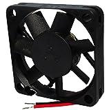 AERZETIX: Ventilador para PC ordenador de sobremesa 12V 45x45x10mm 15,6m3/h 27dBA 5000rpm 26AWG