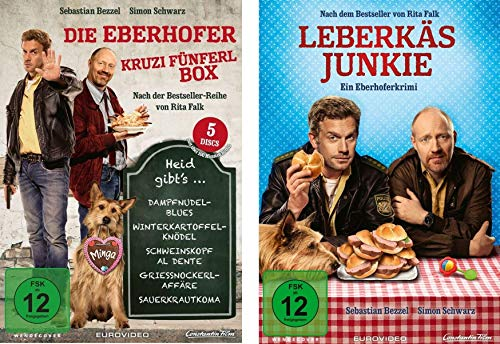 Eberhofer - 6 Filme Set ( Kruzifünferlbox + Leberkäsjunkie) im Set - Deutsche Originalware [6 DVDs]