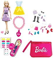 Festeggia l'epifania con la calza Barbie La Befana porterà nella sua calza un sacco di sorprese: -1 Barbie con anellino-1 set accessori-1 abitino-1 set manicure-1 braccialetto glossy-1 borsetta fashion