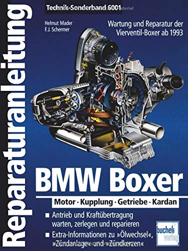 BMW Boxer: Motor - Kupplung - Getriebe - Kardan  ab 1993 (Reparaturanleitungen) -