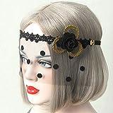 Kaige Maske Gepiercte Spitzenschleier Sex Maske Maskerade Partei Maskerade