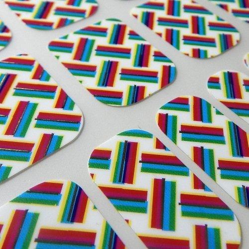 Chix Nails Designer Minx - Adhesivos de vinilo para uñas, diseño de dedos