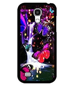 printtech Butterfly Waterfall Back Case Cover for Samsung Galaxy S4 Mini::Samsung Galaxy S4 Mini i9190
