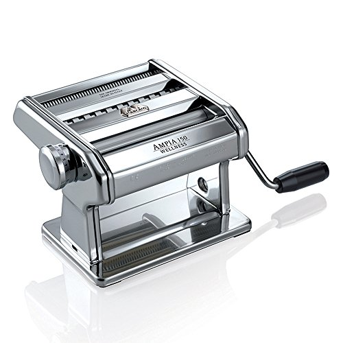 Ampia 150 Classic Manuelle Nudelmaschine Fr Teigbltter Fettuccine Und Tagliolini Zu 150 Mm