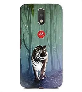 ifasho Designer Phone Back Case Cover Motorola Moto G4 Plus ( Lady Dance Beautiful Look Logo )