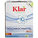 Klar Bio Vollwaschmittel Pulver 2475 gr