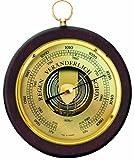 Fischer Barometer Pascal Holzgehäuse Nussbaumfarben 1436-12, Durchmesser 170mm