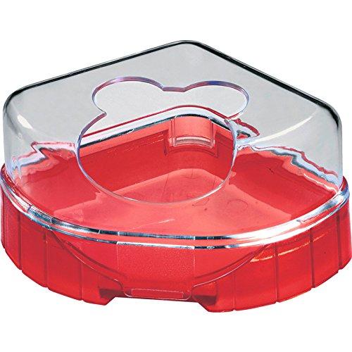 RODY LOUNGE TOILET HOUSE Cerise toilettes pour hamster,souris, gerbilles/ZOLUX
