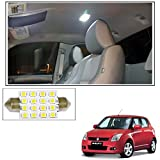 #5: Vheelocityin 16 SMD LED Roof Light White Dome Light for Maruti Suzuki Swift Old