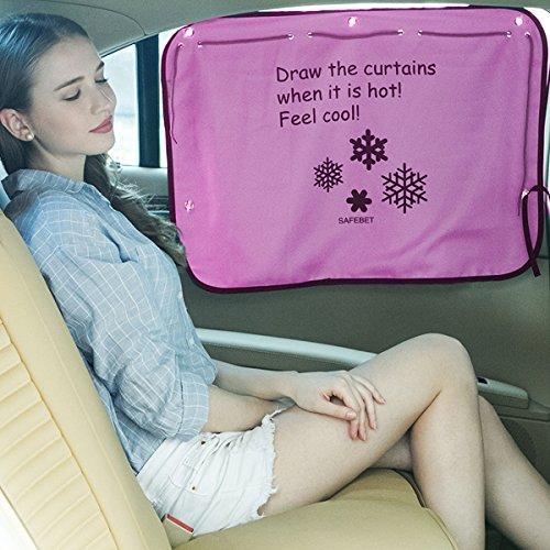 Cortina para ventana de coche, con protección UV...