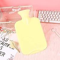 Murieo Wärmflasche 1er Pack bunt Gummi-Heißwasserbeutel explosionsgeschützt (Gelb) preisvergleich bei billige-tabletten.eu