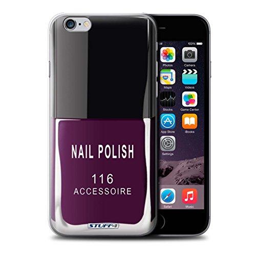 Stuff4 Hülle / Hülle für Apple iPhone 6S / Lila Muster / Nagellack/Make-Up Kollektion Lila