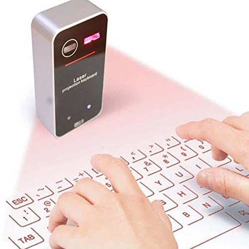 Lukuki Mini Virtual Laser Keyboard Bluetooth Smartphone