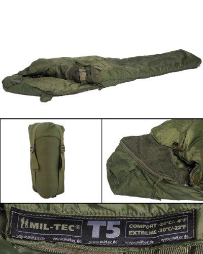 Army Mumien Schlafsack US Woodland Camouflage Jagd Angeln Mumie Wanderrucksack