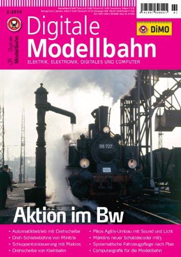Digitale Modellbahn - Aktion im Bw - Elektrik, Elektronik, Digitales und Computer - MIBA, Eisenbahn Journal, ModellEisenBahner
