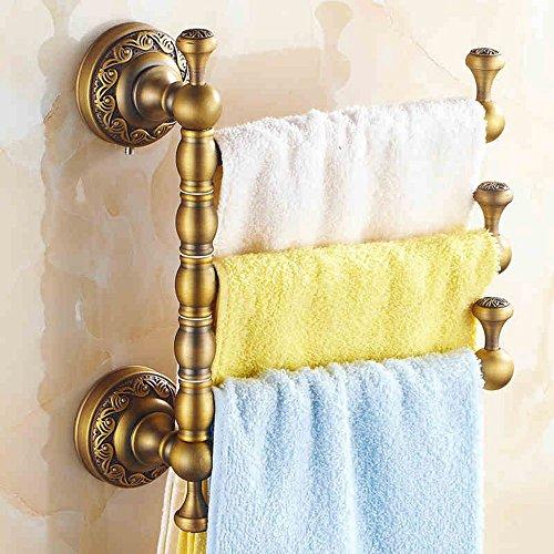 Asciugamano bar-- Spesso antichi rotanti Attività tovagliolo barra / cornice