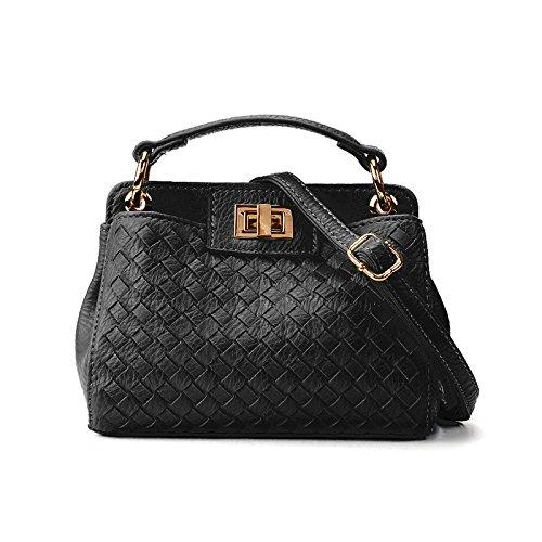 signore - borsa mini obliquo a sacchetto,black Black