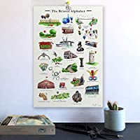 The Bristol Alphabet. Signed Fine Art Print