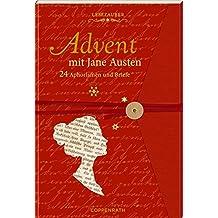 Briefbuch – Advent mit Jane Austen: 24 Geschichten und Aphorismen