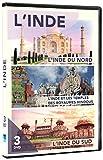 L'Inde - L'inde du Nord - L'inde et les Temples des Royaumes Hindous - L'Inde du Sud 3DVD