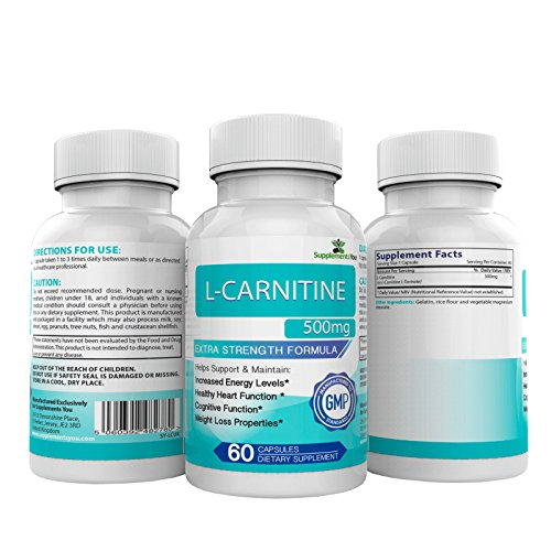 L-CARNITINA ADVANCED 1500mg - 60 Capsule SUPER ENERGIA. Può aiutare