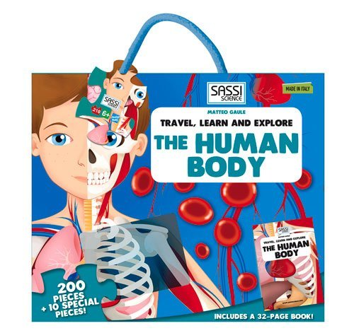 The human body. Travel, learn and explore. Ediz. illustrata (Travel, Learn, & Explore) por Matteo Gaule