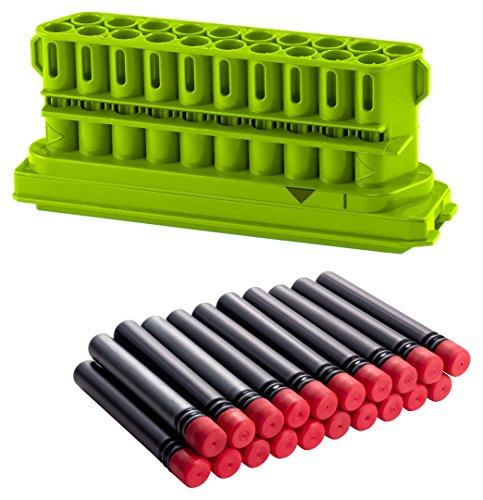 BOOMCo-Clip-Darts-yellow-20-Dart-Clip-blackred-Smart-Stick-Darts