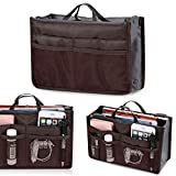 Best Handbag Organizer Inserts - Brown Leaf reg; Multipocket Handbag Organizer Travel, Make Review