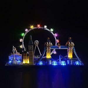 LIGHTAILING Set di Luci per (Architecture Londra) Modello da Costruire - Kit Luce LED Compatibile con Lego 21034 (Non…  LEGO