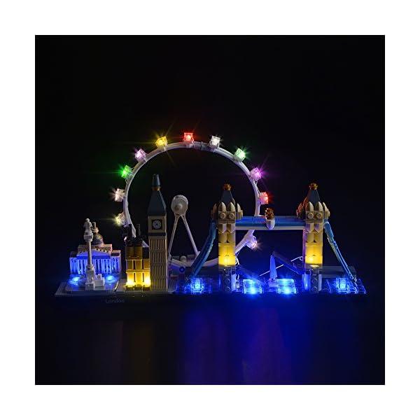 LIGHTAILING Set di Luci per (Architecture Londra) Modello da Costruire - Kit Luce LED Compatibile con Lego 21034 (Non… 1 spesavip