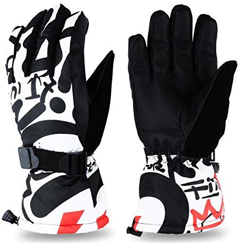 Blue-Yan Wasserdichte Skihandschuhe Winddicht gefüttert mit Vlies Handschuhe für Männer und Frauen, Kältetest Handschuhe für Bergsteigen, Reitsport Medium #4