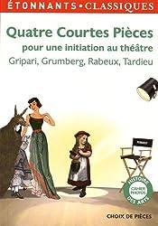 Quatre courtes pièces pour une initiation au théâtre