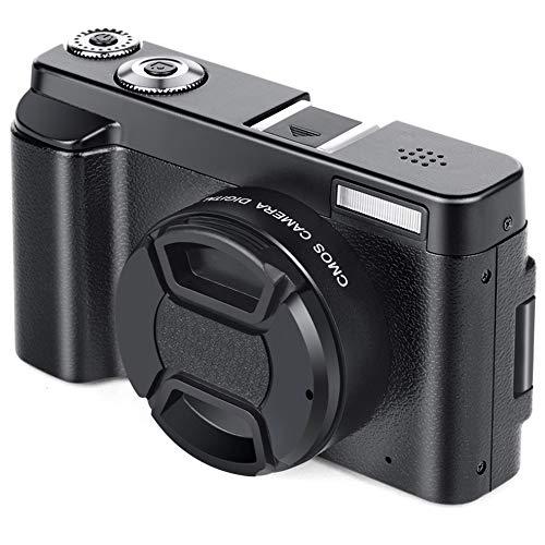 CHOULI HD 1080P Digitale Camcorder-Kamera HD Digital Micro SLR-Kamera DC101 + W2 Schwarz Medium-format Digital Slr