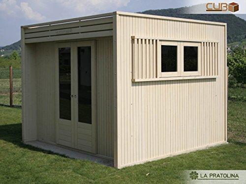 Casetta in legno da giardino 2x2 la pratolina di alta for La pratolina casette