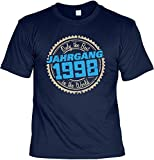 Cooles T-Shirt zum 20. Geburtstag T-Shirt Only the Best in the World Jahrgang 1998 Geschenk zum 20 Geburtstag 20 Jahre Geburtstagsgeschenk 20-jähriger