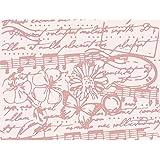 Ellison Europe Sizzix Tief Vintage textura por Sophie guilar plantilla para repujado, PP plástico, multicolor