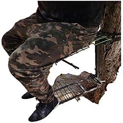 Silla de espera metálica para sujetarla al tronco