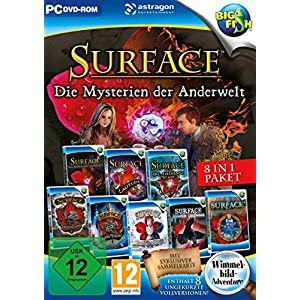 Surface: Die Mysterien der Anderwelt 8 in 1 Paket – [PC]