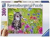 Ravensburger Puzzle 13616 - Katze im Blumenmeer