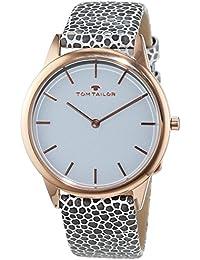TOM Tailor de relojes mujer-reloj analógico de cuarzo cuero 5414701