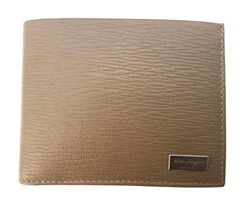 Salvatore Ferragamo Herren Brieftasche Celtic Gray Pebble (Brieftaschen Herren Ferragamo)