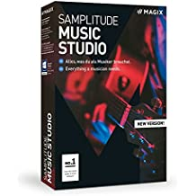 MAGIX Samplitude Music Studio Version 2019 The Complete Software Studio for Composing/Recording/Mixing and Mastering