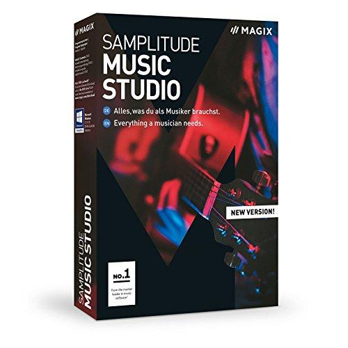 MAGIX Samplitude Music Studio - Version 2019 - das komplette Studio zum Komponieren, Aufnehmen, Mixen und Mastern (Magix-loops)