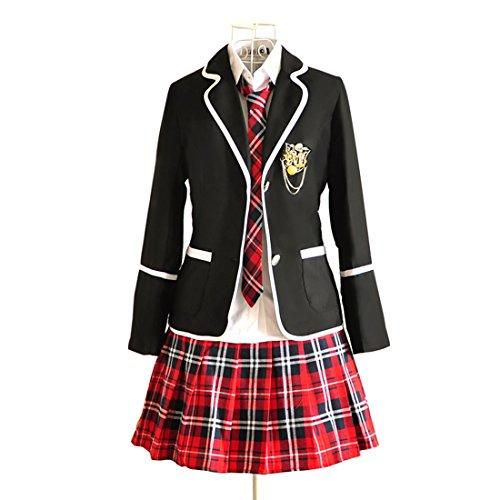 URSFUR Uniforme/Costume Scolaire Japonais Qualité Supérieure Garantie(Taille S)