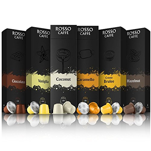 Shop for Nespresso Compatible Flavoured Coffee Pods Capsules from No Label