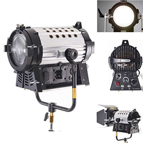 HWASTUDIO® Als Arri HMI Par Light 12000 Lux Dimmbare zweifarbige 200W LED Fresnel Scheinwerfer (CR2000ES) Arri Studio